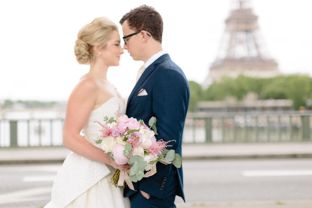 Krissy & Josh's Summer Wedding In Paris