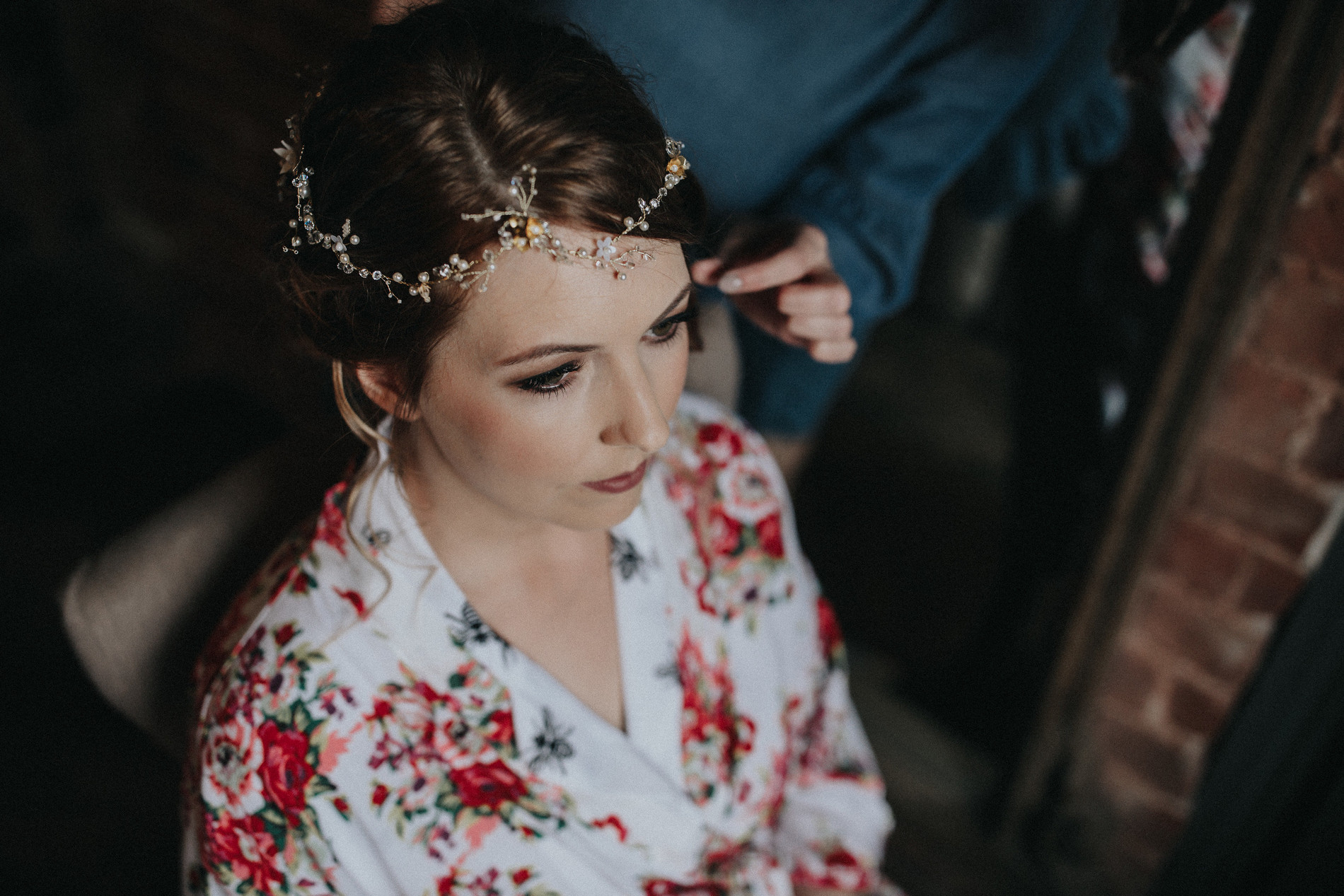 Le Petit Chateau Wedding - Victoria Farr Make Up Artist Hair Stylist